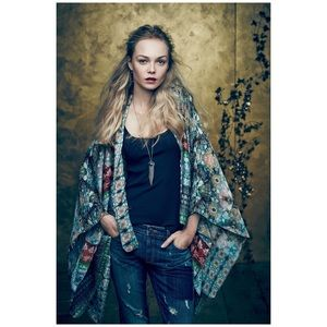 Anthro Kas New York Bahia Kimono Cardigan